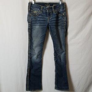 Silver Jean's McKenzie Slim Bootcut Sz W27/L32 R7